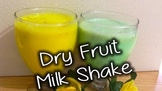 Dry Fruit Milk Shake Recipe By Chef Shaheen