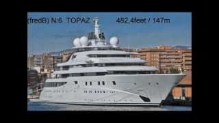 TOP 10 WORLD'S BIGGEST, LONGEST AND LARGEST YACHT in THE WORLD French travel trip