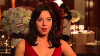 "Parks and Recreation: Series Finale:  Aubrey Plaza ""April""  Interview"