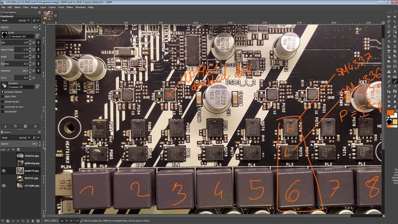 mobo PCB Breakdown: Asrock X570M Pro4 // Same VRM as Pro4 / Phantom Gaming 4