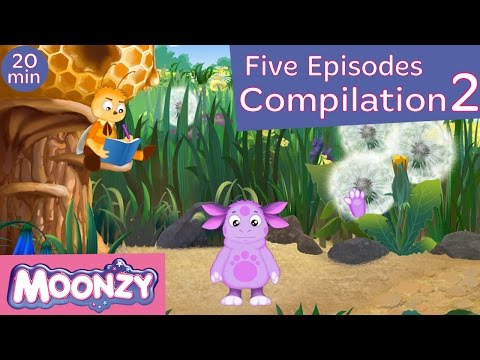 MOONZY (Luntik) - Moonzy Compilation, Session 2 (Five Full episodes) [HD]