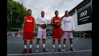 3×3 U18 Serbian National Team on Bulut Court