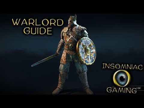 """For Honor Warlord Guide / Tutorial """"How to play Warlord"""""""