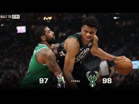 Bucks - Bucks hold on, beat Celtics 98-97 on Thursday night