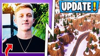 *NEW* Fortnite Update! | Tfue Hacker, S7 Map, Playground Change!