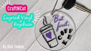 CraftNCut Layered Vinyl Keychain Software