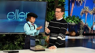 Kid Insect Expert Shares His Love of Bugs with Sean Hayes