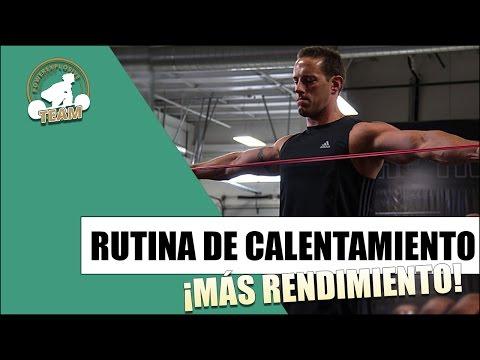 RUTINA DE CALENTAMIENTO PARA AUMENTAR TU RENDIMIENTO