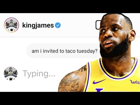 DM'ing 100 NBA PLAYERS ON INSTAGRAM *this is what happened...*
