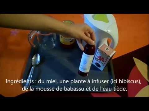 Shampoing aux plantes et à la mousse de babassu (sans base lavante).