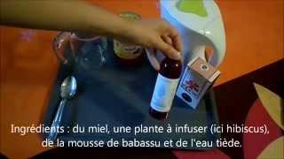Shampoing aux plantes et à la mousse de babassu (sans base lavante). Thumbnail