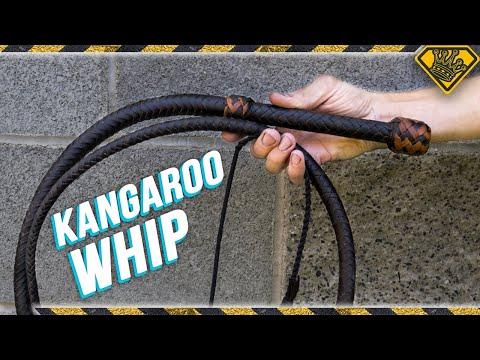 Indiana Jones Kangaroo Whip DIY