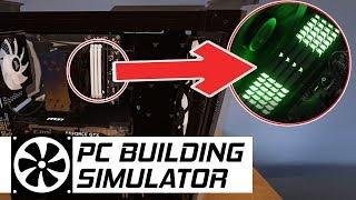 ŚWIECĄCA PAMIĘĆ RAM [RGB] - PC Building Simulator #8