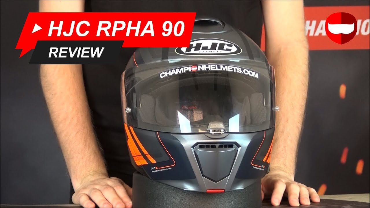 95817d6d HJC RPHA 90 Review - Champion Helmets Motorcycle Helmets