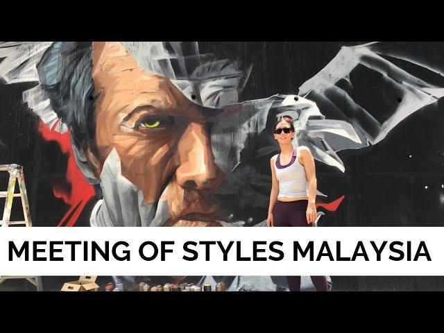 Graffiti in Kuala Lumpur, Malaysia - Meeting of Styles Malaysia 2019