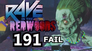 Rave In The Redwoods Round 191 Fail infinite warfare zombies