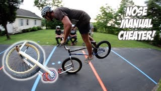 NOSE MANUAL WHEELIE BAR CHALLENGE!