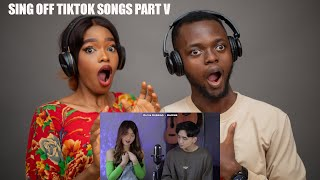 Our First Time Hearing Sing Off Tiktok Songs Part V Build A B Tch Everything Sucks Reaction