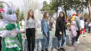 Открытие центрального парка с.Борское