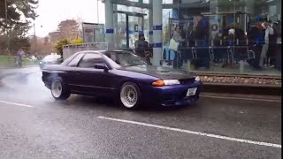 R32 BURNOUT and revs in Horsham!