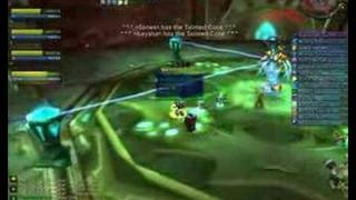 Quad Boxing Vashj in World of Warcraft. good times~ This was my fir...