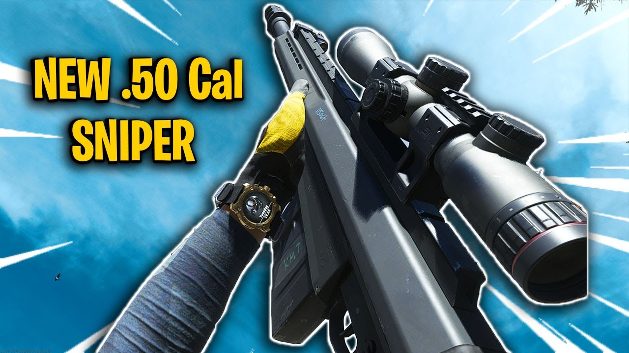 THE NEW .50 CAL RYTEC AMR SNIPER RIFLE ON CALL OF DUTY!
