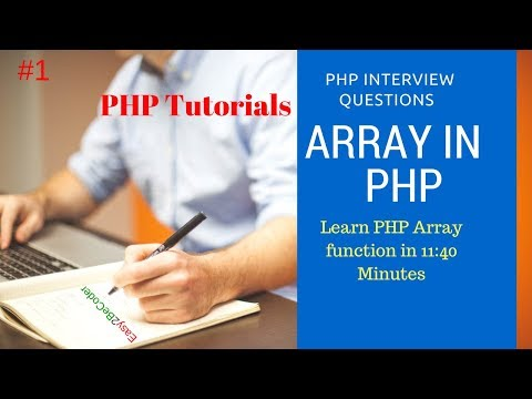 What Is Array In PHP   Array Functions In PHP