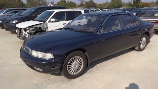 Mazda Sentia ( efini MS9 ) Junkyard car マツダ センティア アンフィニms9