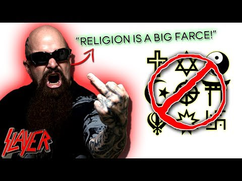 Kerry King: Religion Is A Joke! | Slayer Guitarist