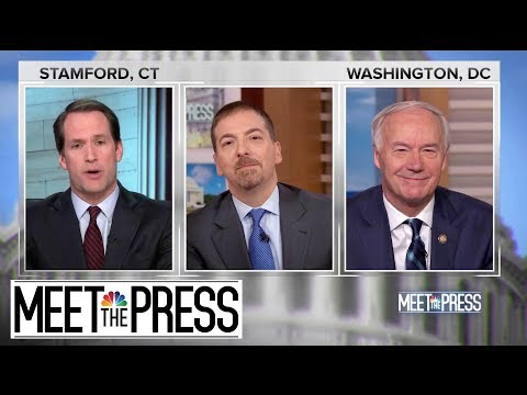 Full Hutchinson And Himes: 'Everything About This Has Become Political' | Meet The Press | NBC News