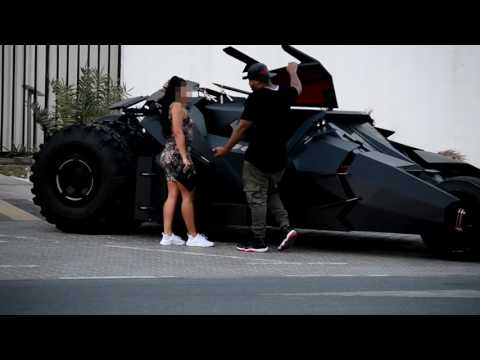 Picking Up Girls With A Batmobile!!! (MUST WATCH)
