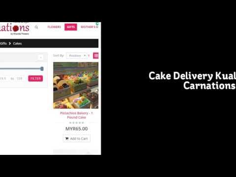 Cake Delivery Kuala Lumpur | Carnations.my