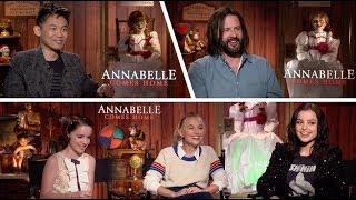 ANNABELLE COMES HOME - James Wan, Gary Dauberman, McKenna Grace, Madison Iseman, Katie Sarife