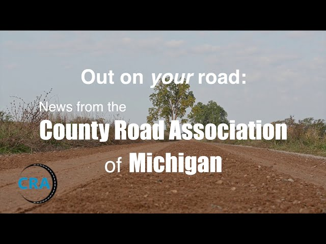 Regraveling county roads