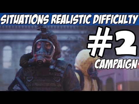 Rainbow Six Siege Situations Walkthrough Part 2 Realistic Difficulty All Objectives Let's Play Story