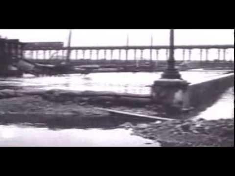 La crue de 1910 à Paris (Seine) - images d'archive