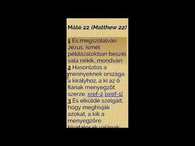Jézus az adózásról (Mt 22)