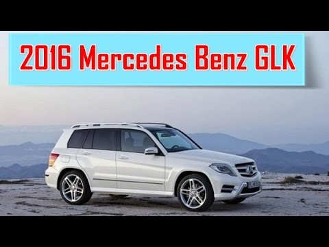 2016 mercedes benz glk redesign exterior youtube. Black Bedroom Furniture Sets. Home Design Ideas