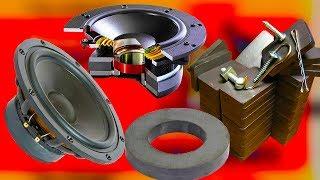 Факты про МАГНИТ, зачем в АУДИОколонках нужен магнит, в каких устройствах используется магнит