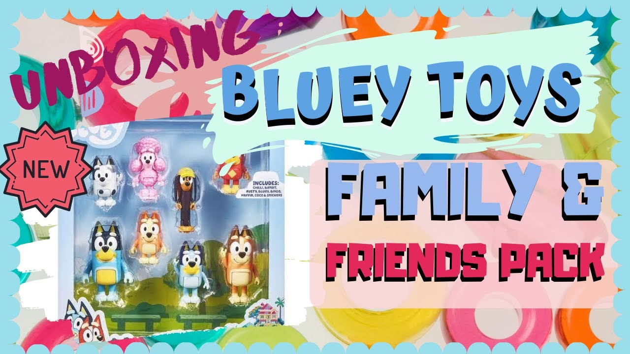 New! Bluey/'s Playground BLUEY Playsets Bingo/'s Playroom Disney Jr
