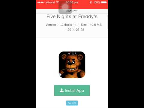 How To Download Five Nights At Freddy's On IOS