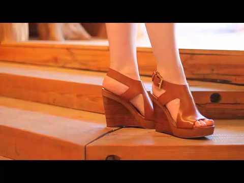 91746b7d643a Michael Kors - Josephine Wedge in Luggage - YouTube
