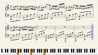 George Winston : Variations on the Pachelbel's canon piano sheet
