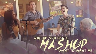 Shut Up and Dance/Want to Want Me MASHUP (Sam Tsui & Diamond White) | Sam Tsui