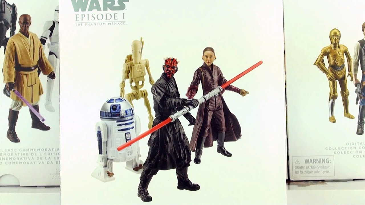 The Phantom Menace Toys : Star wars episode the phantom menace limited edition
