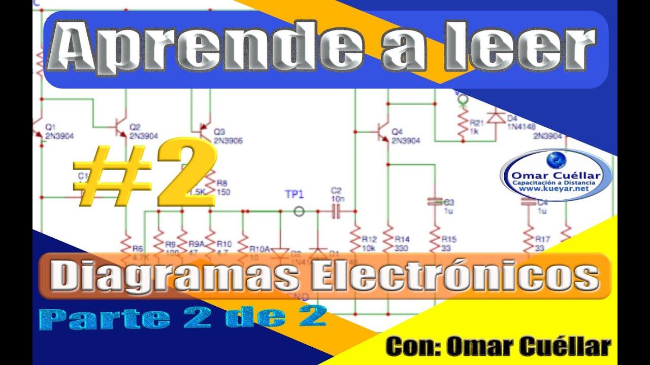 Aprende A Leer Diagramas Electronicos Parte Ii