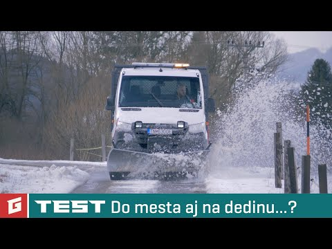 Mercedes-Benz Sprinter 316 CDI 4x4 + Pluh HILLTIP - TEST - GARAZ.TV