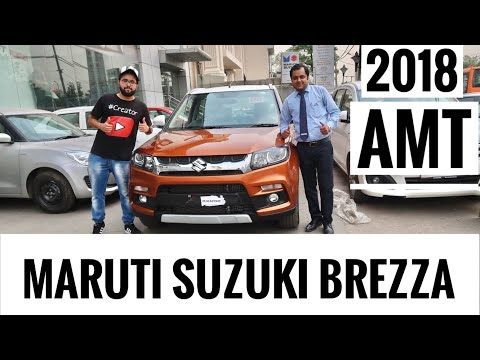 2018 Maruti Suzuki Vitara Brezza Amt | 2018 Vitara Brezza Amt  | Brezza Amt 2018 | Maruti Brezza Amt