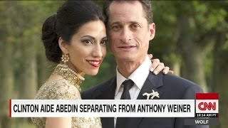 Huma Abedin seperates from Anthony Weiner after new sexti...