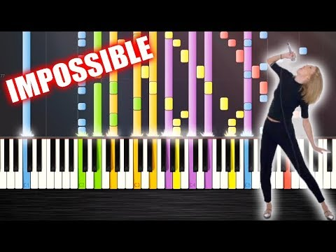 Taylor Swift - Shake It Off - IMPOSSIBLE REMIX by PlutaX - Piano - Synthesia
